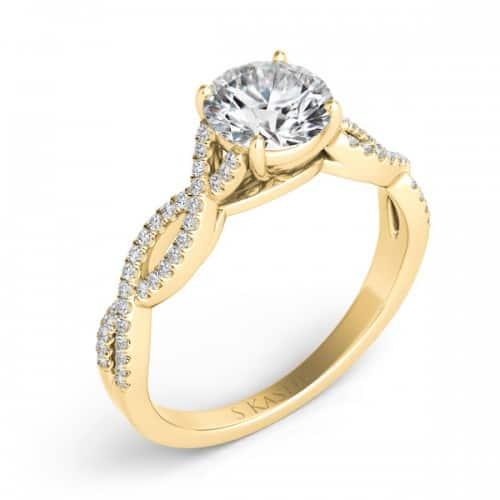 S. Kashi & Sons New York EN7325-30YG Engagement Ring