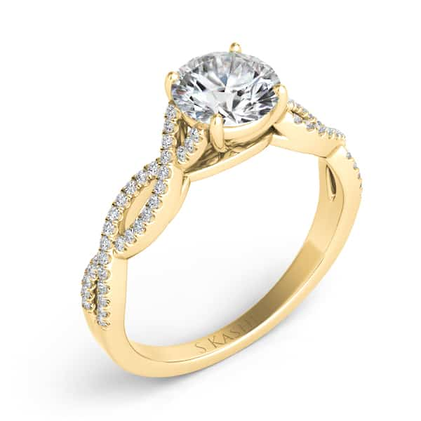 Engagement Rings York: S. Kashi & Sons New York EN7325-30YG Engagement Ring