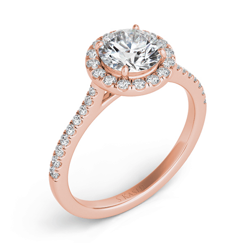 s kashi rose gold engagement ring en7370-75rg
